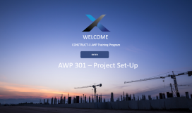 AWP 301 - Project Set-Up