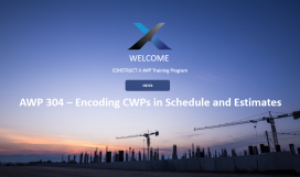 AWP 304 – Encoding CWPs in Schedule and Estimates