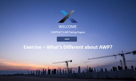 Exercise - What's Different about AWP
